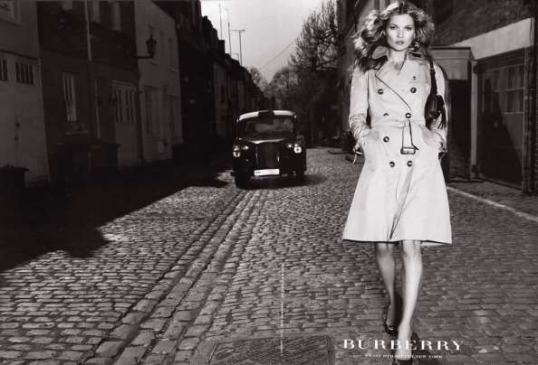 INTRO - Kate moss - burberry ad